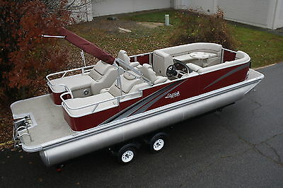 26  Tahoe TMLTZ RL -----Top of the line pontoon boat