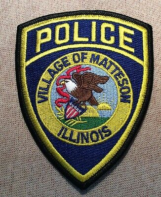 IL Village of Matteson Illinois Police Patch
