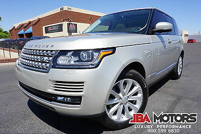 2014 Land Rover Range Rover 14 Range Rover HSE Full Size SUV 1 Owner Car! 2014 Range Rover HSE Full Size SUV like 2010 2011 2012 2013 2015 SC Supercharged
