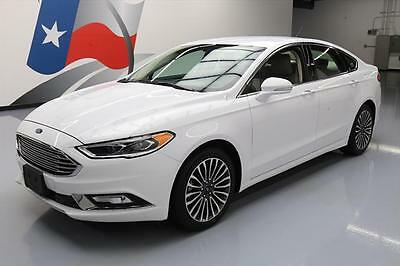 2017 Ford Fusion  2017 FORD FUSION SE ECOBOOST HTD LEATHER REAR CAM 31K #118045 Texas Direct Auto