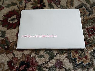 USPS BICENTENNIAL INAUGURATION Memento Stamp Collection
