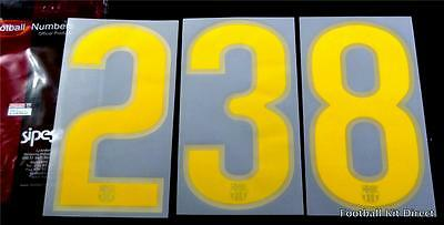 Barcelona 2008-10 Football Shirt numbers Player Size Home