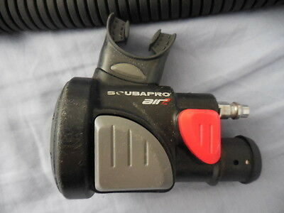 Scubapro AirII Air2  Scuba pro scuba diving BC inflator with  BC inflate hose
