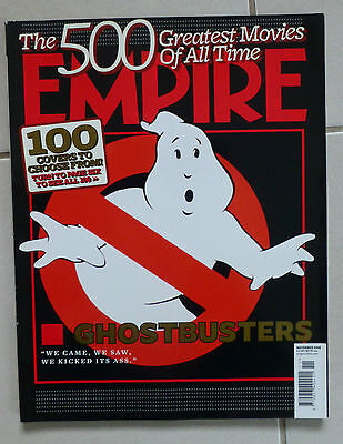 Empire Magazine  - 100 Covers Ghostbusters Issue #233 November 2008