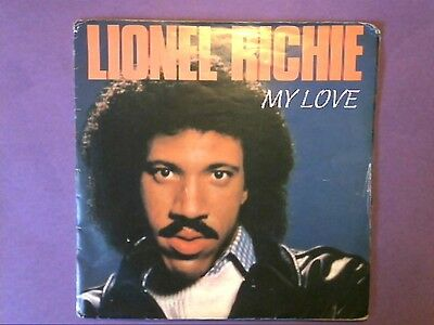 "Lionel Richie - My Love (7"" single) poster sleeve TMG 1300"