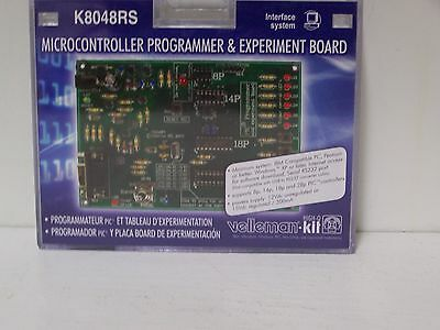 New Velleman K8048RS PIC Microcontroller Programmer & Experiment Board