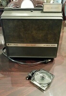Vintage Bell & Howell Model 469A autoload 8 projector