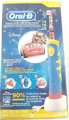 Oral B Pro-Health Stages Oral-B Power Brush - Cars Toothbrush for Kids *NIB*