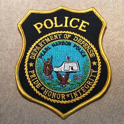 US DOD Pear Harbor Hawaii Police Patch