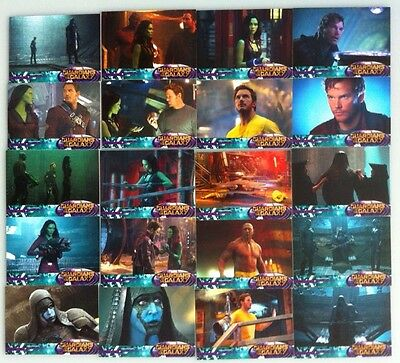 Guardians Of The Galaxy 2014 Upper Deck X20 Card Lot