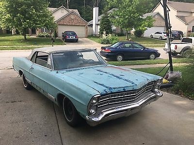 1967 Ford Galaxie  1967 ford galaxie 500 convertible...project car barn find