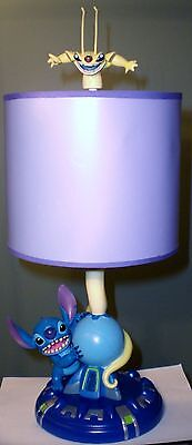 Disney Lilo & Stitch Experiment 626 Cousin Sparky Lamp Retired w/ Original Box