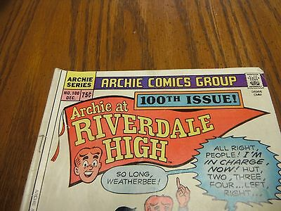 Archie at Riverdale High - 1984 Comic Book - Vintage