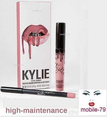 Kylie Jenner Matte Lip Kit -HIGH MAINTENANCE-LIPKIT -LIPGLOSS + LIPLINER