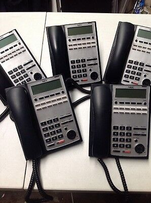 NEC SL1100 Phone System With 5 Handsets