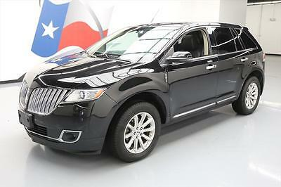 2013 Lincoln MKX Base Sport Utility 4-Door 2013 LINCOLN MKX AWD PANO ROOF NAV CLIMATE SEATS 36K MI #L34581 Texas Direct