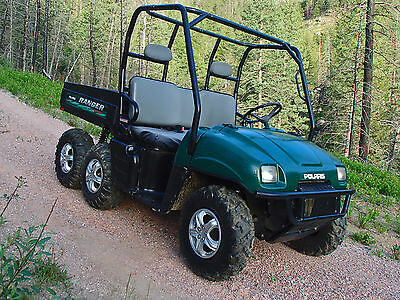 Polaris 6X6 Ranger Utv Extremely Nice Hard To Find Only 700 Hrs $5995 No Reserve