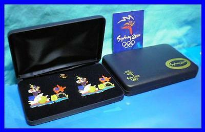 LBS 33# * LIMITED EDITION SYDNEY 2000 OLYMPIC GAMES*Mascot Puzzle Boxed Pin Set