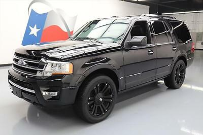 2015 Ford Expedition Limited Sport Utility 4-Door 2015 FORD EXPEDITION LIMITED 4X4 ECOBOOST NAV DVD 24K #F49728 Texas Direct Auto