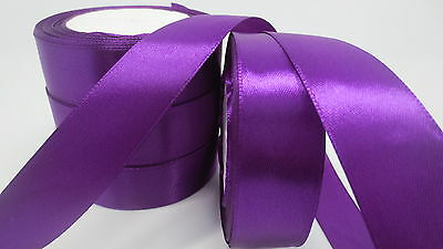 """NEW Gift Wrapping wedding festival Party 5yards 1""""25mm Craft Satin Ribbon HH"""