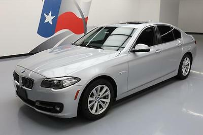 2015 BMW 5-Series Base Sedan 4-Door 2015 BMW 528I PREMIUM SUNROOF NAV HEATED LEATHER 43K MI #516641 Texas Direct