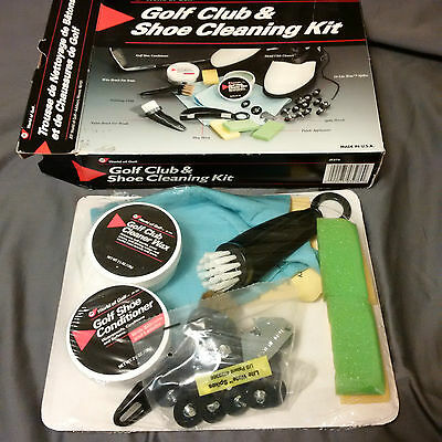 Golf Club & Shoe Cleaning Kit Jr276 - Brand New