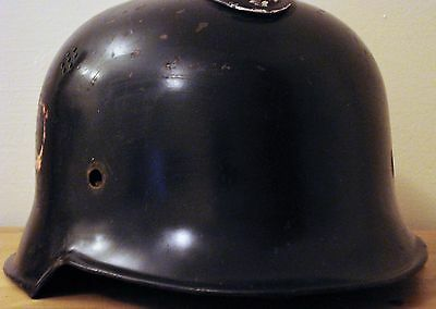 Original Ww2 German Helmet With Liner Wwii