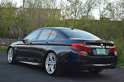 2015 BMW 5-Series 4 DOOR SEDAN 2015 BMW 550i M SPORT  NO RESERVE M6 M5 E63 AMG MERCEDES AUDI