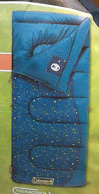 Coleman Firefly Youth Sleeping Bag Blue