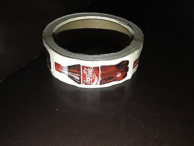 Coca Cola Bottle - Roll of Stickers