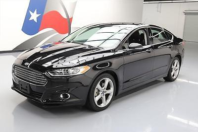 2015 Ford Fusion  2015 FORD FUSION SE TECH BLUETOOTH REAR CAM ALLOYS 27K #267179 Texas Direct Auto