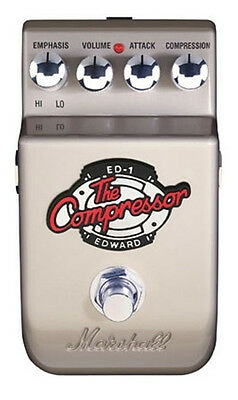 Marshall ED-1 Edward The Compressor Guitar Effects Pedal ED1