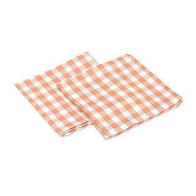 Set Tovaglioli Diamond Check Da 40X40 Cm In Cotone