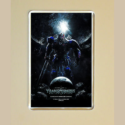 Transformers: The Last Knight - Mark Wahlberg - Laura Haddock - Fridge Magnet #1