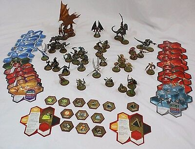 Heroscape War Game Lot of 39 Figures with Cards + 12 glyphs Kyrie Thorgrim Marro
