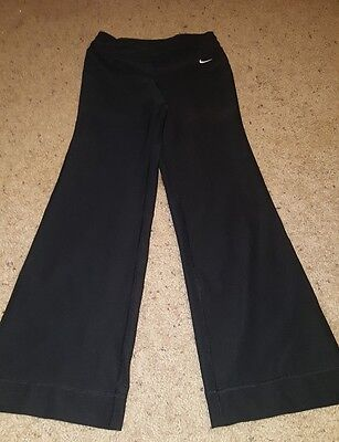 *Nike Fit Dry XS Women's  Black Athletic Yoga Running Pants Stretch