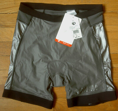 PEARL IZUMI P.R.O. Elite Series Tri Short Womens Large Silver Triathlon Cycling