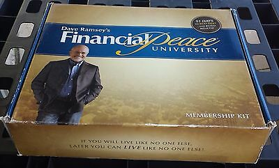 Dave Ramsey's Financial Peace University Membership Kit Opened Box