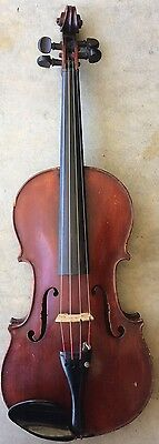 Old French Violin For Repair
