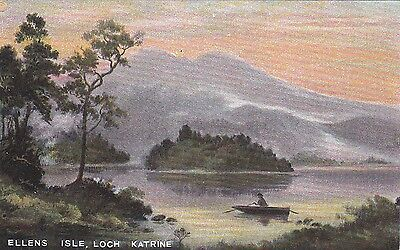 Scotland postcard LOCH KATRINE unused