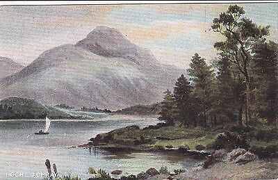 Scotland postcard LOCH ACHRAY unused