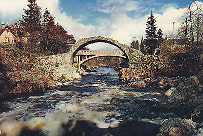 Scotland postcard CARRBRIDGE