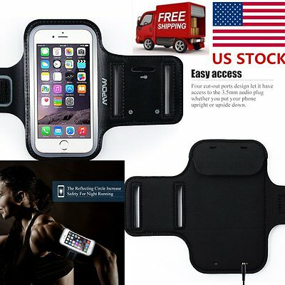 For Apple iPhone 6s 6 Sports Gym Running Joging Armband Case Cover Holder New