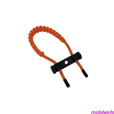 Archery Wrist Sling Hunting Adjustable Braided Strap Rope Hunt Compound Bow