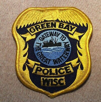 WI Green Bay Wisconsin Police Patch