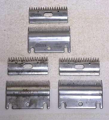 OSTER Clipper Blades 84AU + 83AU For ClipMaster Clippers (3 Sets)