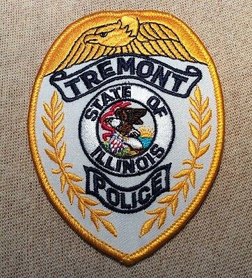 IL Tremont Illinois Police Patch