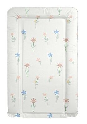 Flowers Floral Baby Change Mat Padded Raised Sides Changing Mat Wipe Clean