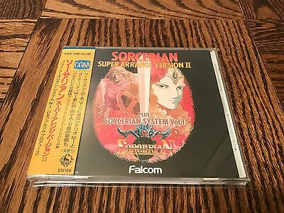 Sorcerian Super Arrange Version II - Falcom Video Game Music CD - JAPAN 1988