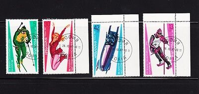 Calgary Winter Olympic Games Complete Set of 4, Bulgaria